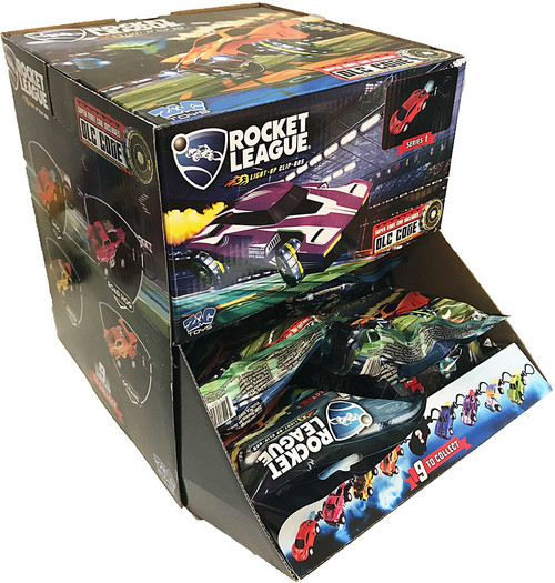Clip On Hanger Rocket League Mystery Box [24 Packs]
