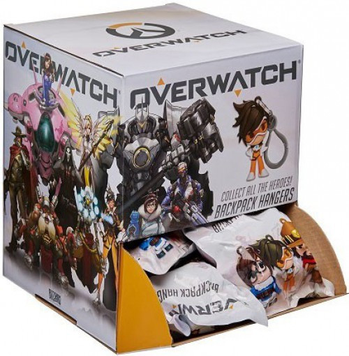 Clip On Hangers Series 1 Overwatch Mystery Box [24 Packs]