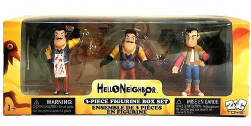 Hello Neighbor 3-Inch Mini Figure 3-Pack