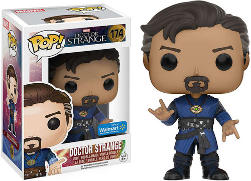 Funko POP! Marvel Doctor Strange Exclusive Vinyl Bobble Head #174 [No Cape, Casting Hands, Damaged Package]