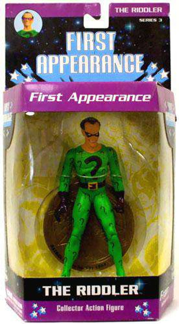 DC First Appearance Series 3 The Riddler Action Figure [Loose]