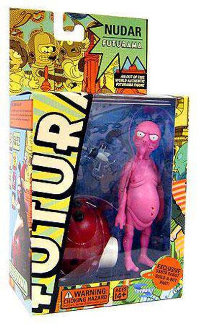 Futurama Series 4 Nudar Action Figure [Damaged Package]