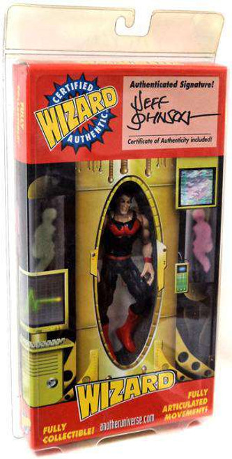 X-Men Wonder Man Exclusive Action Figure [Signed By Jeff Johnson, Damaged Package]