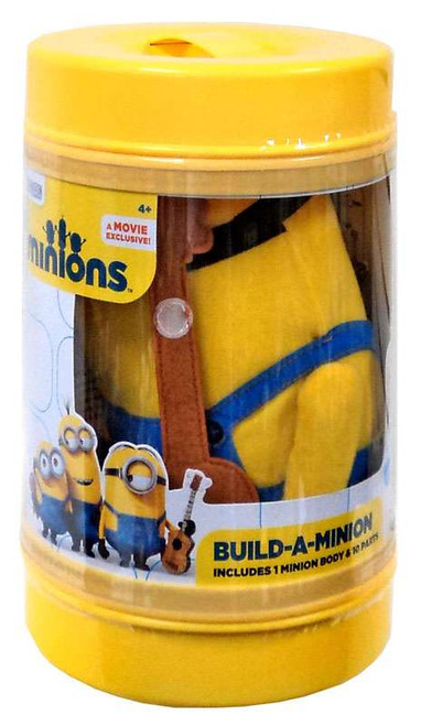 Despicable Me Minions Movie Build-A-Minion Exclusive Plush [Damaged Package]