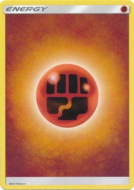 Pokemon Sun & Moon Lot of 10 Fighting Energy Single Cards