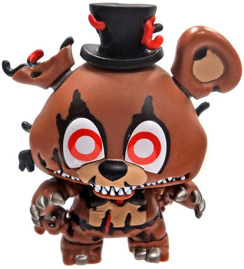 Funko Five Nights at Freddy's FNAF4 & Sister Location Mystery Minis Nightmare Freddy 1/6 Mystery Minifigure [Loose]
