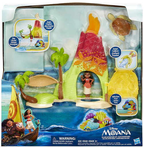 Disney Moana Island Adventure Set