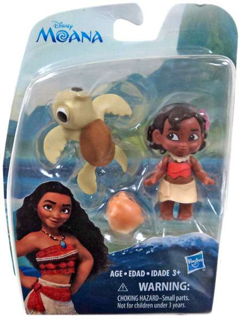 Disney Moana Young Moana with Turtle Action Figure