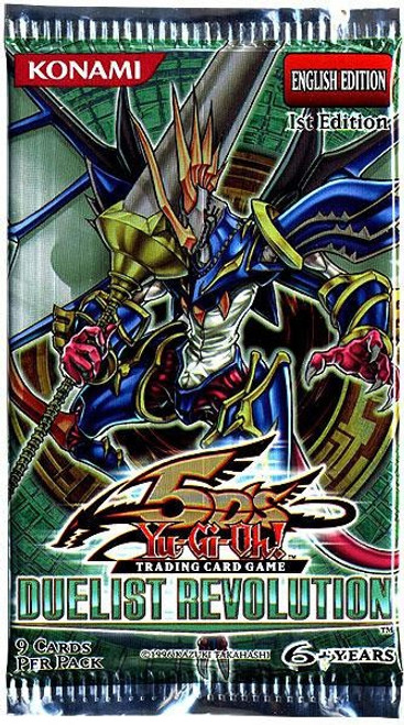 YuGiOh Trading Card Game Duelist Revolution (1st Edition) Booster Pack