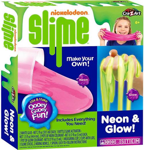 Nickelodeon Slime Neon & Glow Kit