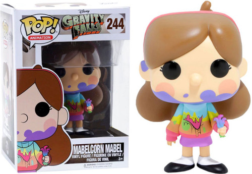 Funko Gravity Falls POP! Animation Mabelcorn Mabel Exclusive Vinyl Figure #244