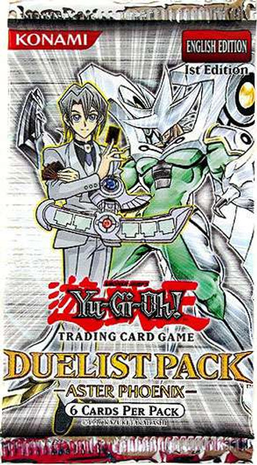 YuGiOh Trading Card Game Duelist Pack Aster Phoenix (1st Edition) Booster Pack