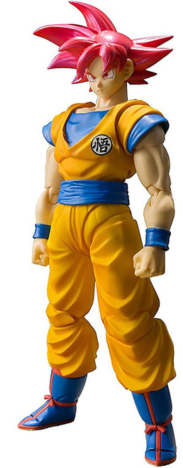 Dragon Ball Super S.H. Figuarts Super Saiyan God Son Goku Action Figure