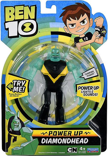 Ben 10 Power Up Diamondhead Deluxe Action Figure [Lights & Sounds]