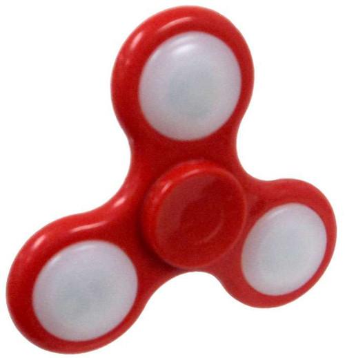 Hand Spinner Flashing Red Spinner [Light-Up]