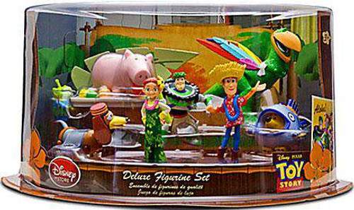 Disney Toy Story Hawaiian Vacation Exclusive 9-Piece Deluxe PVC Figure Playset [Damaged Package]