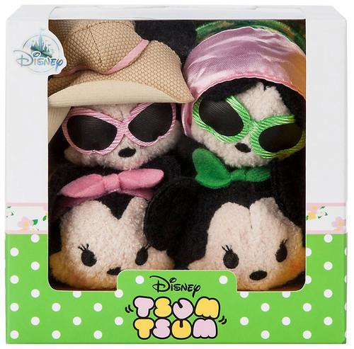 Disney Tsum Tsum Minnie Mouse Exclusive Mini Plush 4-Pack Set