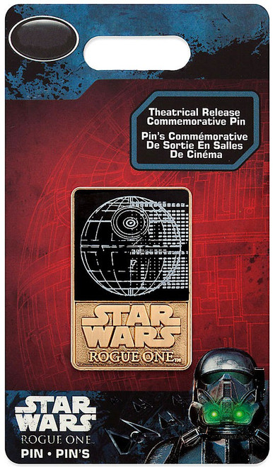 Disney Star Wars Rogue One Death Star Exclusive Pin