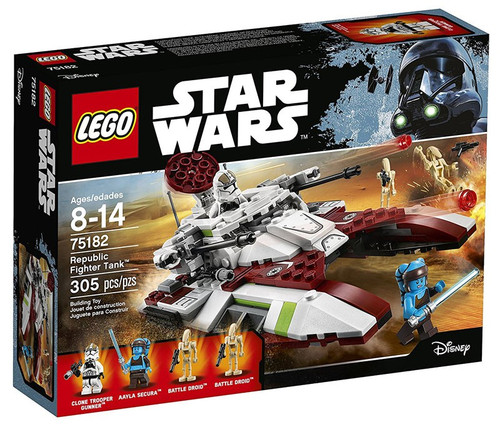 LEGO Star Wars Republic Fighter Tank Set #75182