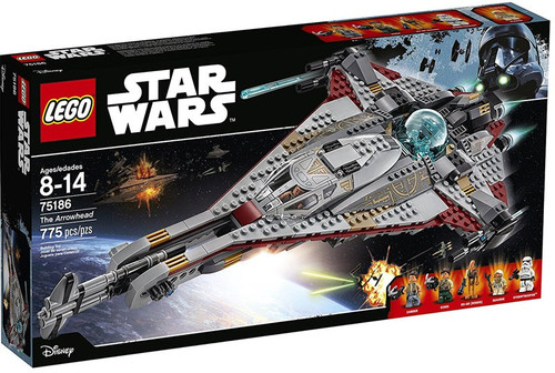 LEGO Star Wars The Arrowhead Set #75186