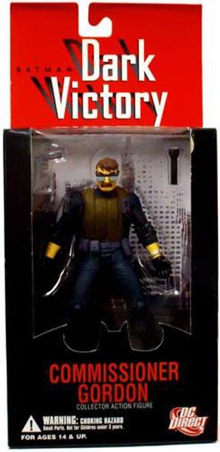 Batman Dark Victory Commissioner Gordon Action Figure [Loose]
