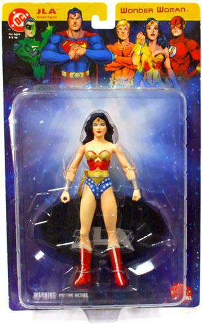 DC JLA Justice League of America Wonder Woman Action Figure [Loose]