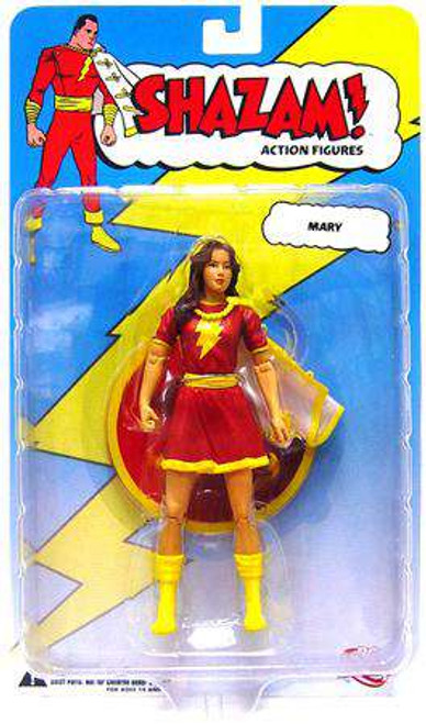DC Shazam Mary Marvel Action Figure [Red Outfit, Loose]