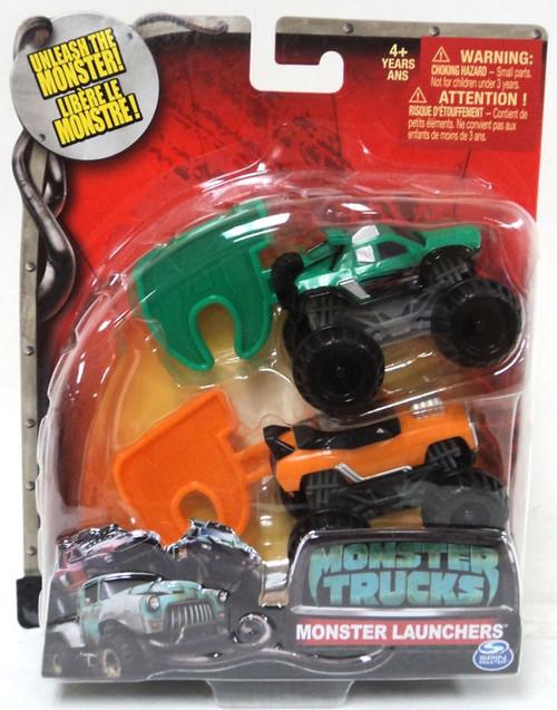 Monster Trucks Monster Launchers MVP & Crankshaft Vehicle