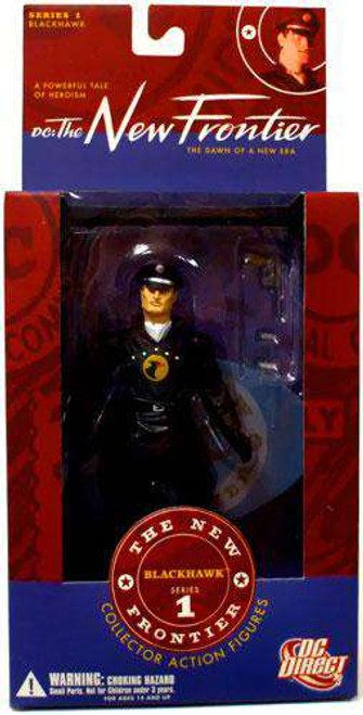 DC The New Frontier Series 1 Blackhawk Action Figure [Damaged Package]