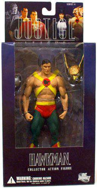 DC Alex Ross Justice League Series 4 Hawkman Action Figure [Damaged Package]