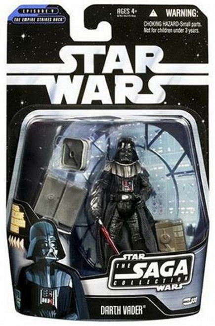 Star Wars The Empire Strikes Back 2006 Saga Collection Darth Vader Action Figure #38 [Bespin]