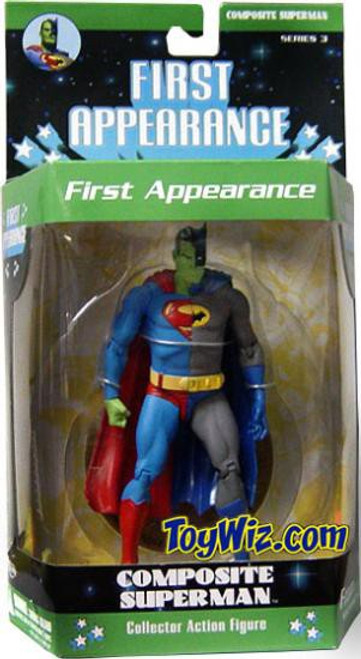 DC First Appearance Series 3 Composite Superman Action Figure [Loose]
