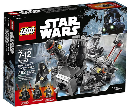 LEGO Star Wars Darth Vader Transformation Set #75183