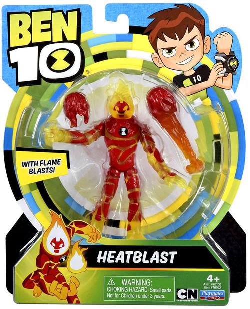 Ben 10 Basic Heatblast Action Figure [Flame Blasts]