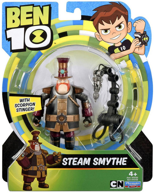 Ben 10 Basic Steam Smythe Action Figure [Scorpion Stinger]