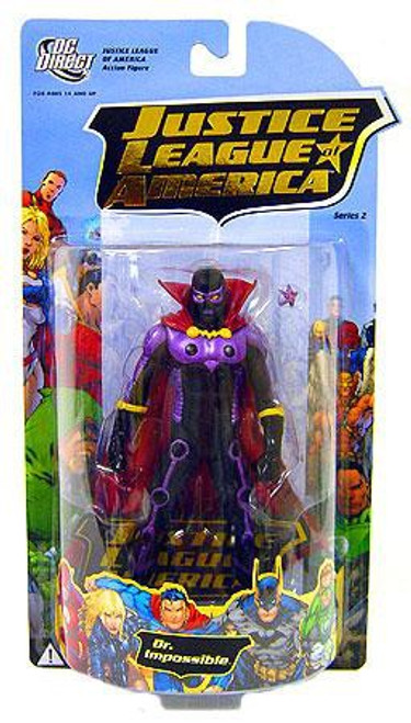 DC Justice League of America Series 2 Dr. Impossible Action Figure [Loose]