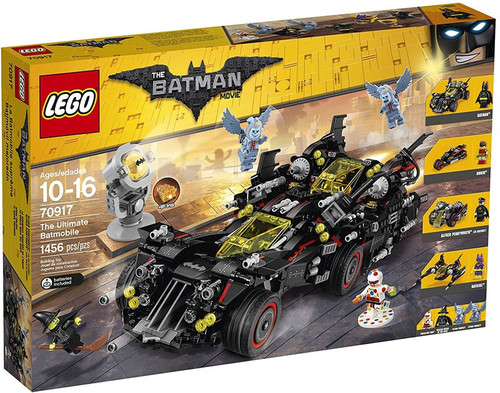 LEGO DC The Batman Movie The Ultimate Batmobile Set #70917