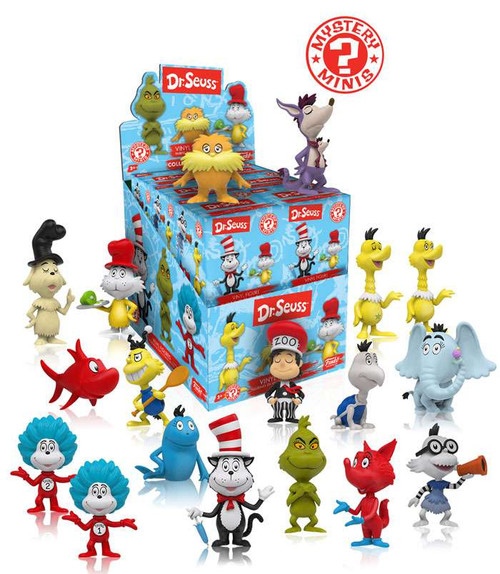 Funko Mystery Minis Dr. Seuss Mystery Box [12 Packs]