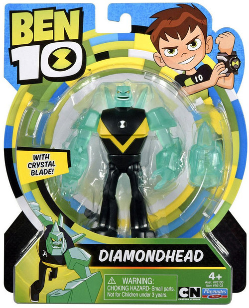 Ben 10 Basic Diamondhead Action Figure [Crystal Blade]