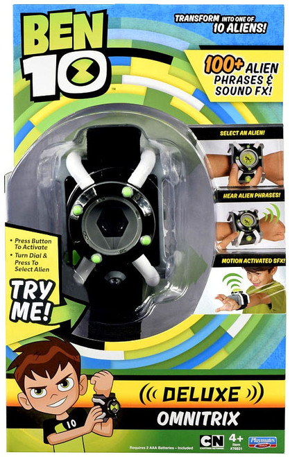 Ben 10 DELUXE Omnitrix Roleplay Toy