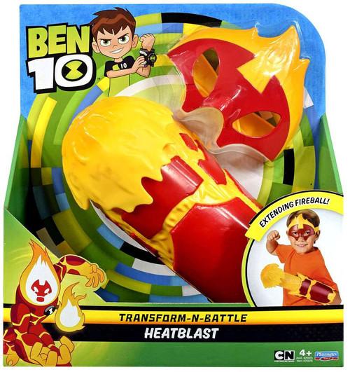 Ben 10 Transform-N-Battle Heatblast Roleplay Set
