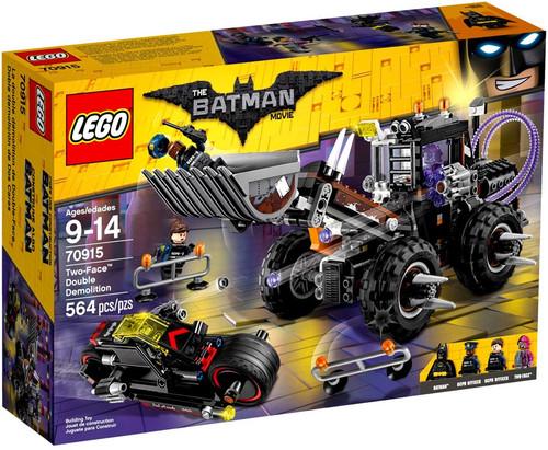 LEGO DC The Batman Movie Two-Face Double Demolition Set #70915