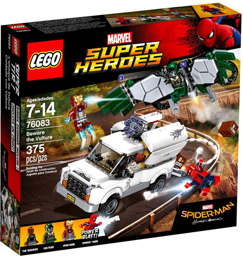LEGO Marvel Super Heroes Spider-Man Homecoming Beware The Vulture Set #76083