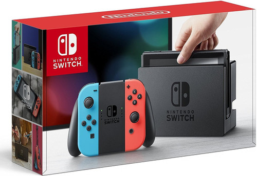 Nintendo Switch Video Game System [Neon Blue Neon Red Joy-Con]