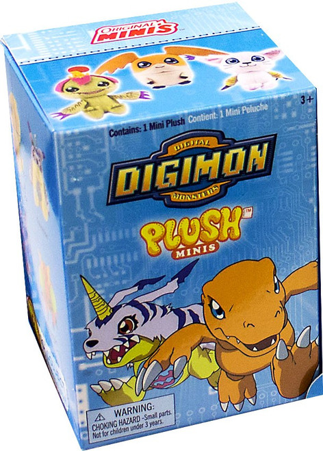 Digimon Mini Plush Mystery Pack