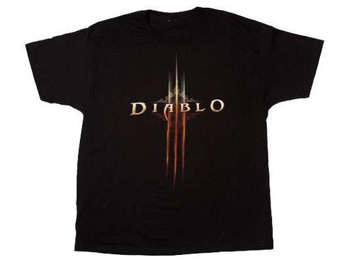 Diablo III Logo T-Shirt [Adult Small]