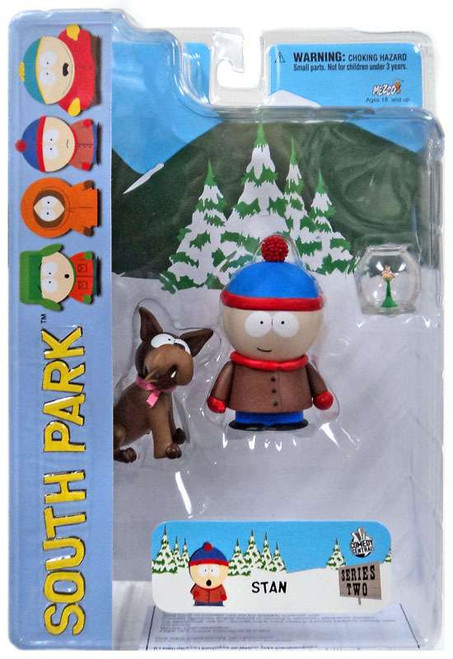 South Park Series 2 Stan Action Figure [With Sparky, Smiling]