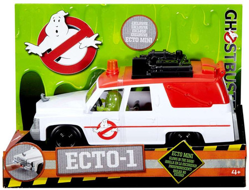 Ghostbusters 2016 Movie Ecto Mini Ecto-1 Action Figure Vehicle [Includes Slimer Ecto Mini, Damaged Package]