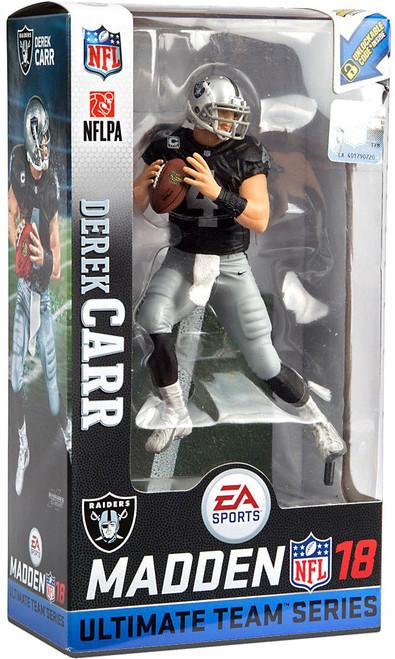 McFarlane Toys NFL Oakland Raiders EA Sports Madden 18 Ultimate Team Series 2 Derek Carr Action Figure