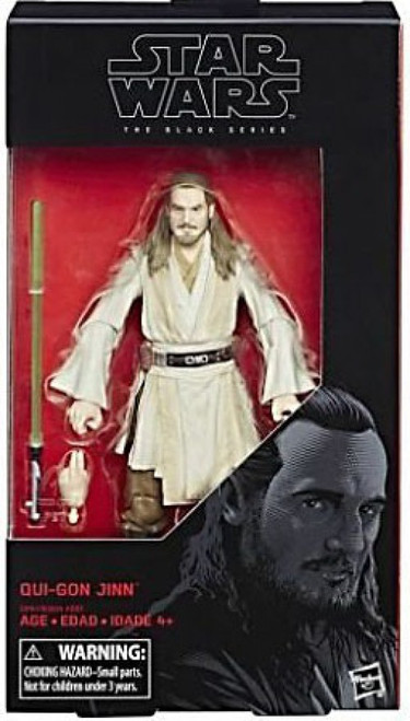 Star Wars Phantom Menace Black Series Wave 22 Qui Gon Jinn Action Figure